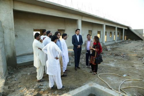 MD's Visit to Thatta schools (Provided Guidelines to school operators)