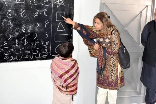 Managing Director's  Visit to Mirpurkhas & Umerkot schools